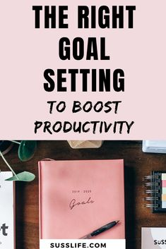 Learn to be more productive and get more done in less time by avoiding common goal setting mistakes Goal Setting Activities, Goal Setting Worksheet, Business Goals, Business Tips, Goal Setting For Students, Common Goal, Student Goals, Productivity Hacks, Goal Planning