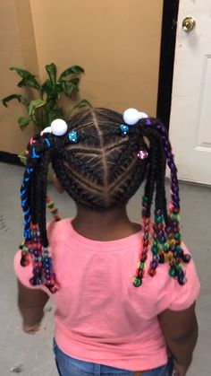 15 Hairstyles For Kids Videos Kiddie Mixed Kids Hairstyles, Toddler Braided Hairstyles, Little Girl Braid Hairstyles, Feed In Braids Hairstyles, Girls Natural Hairstyles, Baby Girl Hairstyles, Natural Hairstyles For Kids, Natural Hair Styles, Hair Masks For Dry Damaged Hair