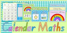 Ready Made Calendar Maths Display Pack Te Reo Māori - māori calendar Maths Display, Classroom Displays, Classroom Ideas, Interactive Activities, Hands On Activities, Numeracy, Teaching Resources, Lesson Plans, Make Your Own