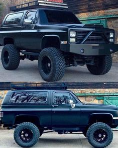 Classic Pickup Trucks, Chevy Pickup Trucks, Lifted Ford Trucks, Chevy Pickups, Gmc Trucks, Cool Trucks, Chevy C10, Chevy Blazer K5, K5 Blazer