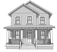 House Plan 70816 | Farmhouse   Plan with 2080 Sq. Ft., 3 Bedrooms, 3 Bathrooms, 2 Car Garage
