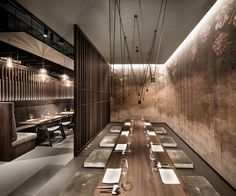 dittel architekten's enso sushi + grill strives for harmony and perfection in its latest design