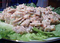 - Vegetarian chicken salad