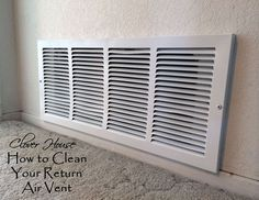 Get rid of dust bunnies & get your return air vent back to full performance.