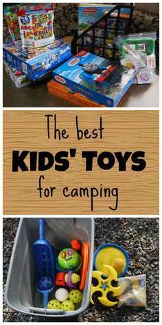 Kiddo cubbie: The best kids' toys for camping :: TheTouringCamper.com (link fixed)