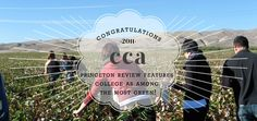 CCA is one of Princeton Review's MOST GREEN :) :)