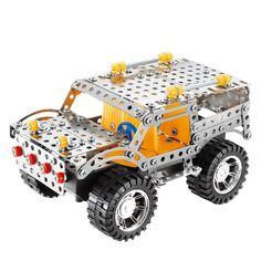 Beby 3D SUV Jeep Boost Vehicles Metal Model Kits Building