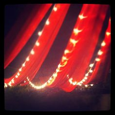 Night circus wedding time! by Ameliamade, via Flickr