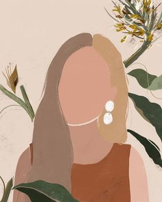 One of the latest portraits for a talented jewelry designer . - One of the latest portraits for a talented jewelry designer 🌾 Thank you, for yo - Art And Illustration, Portrait Illustration, Art Sketches, Art Drawings, Tableau Pop Art, Art Watercolor, Ipad Art, Minimalist Art, Schmuck Design