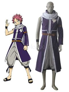 Fairy Tail Team Fairy Tail A Natsu Dragneel Cosplay Costumes Cosplay Fairy Tail, Fairy Tail Costumes, Natsu Cosplay, Cute Costumes, Fairy Tail Halloween, Costume Halloween, Anime Halloween, Cosplay Outfits, Anime Outfits