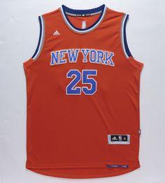 ca03d601769 Men s Derrick Rose Jersey  25 New York Knicks Stitches Jersey Orange S-2xl  from  29.9