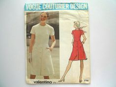 Vogue couturier design 2730