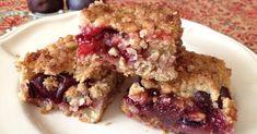 Szilvás-zabpelyhes sütemény recept képpel. Hozzávalók és az elkészítés részletes leírása. A szilvás-zabpelyhes sütemény elkészítési ideje: 65 perc