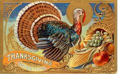 Vintage Thanksgiving Postcard | Flickr - Photo Sharing!