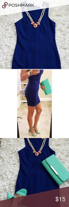 Forever 21 Dresses Blue mini dress great condition only worn once Forever 21 Dresses Mini