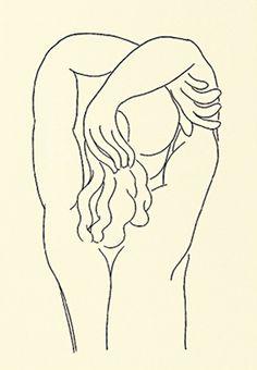 Hommage - quelle soie aux baumes (Silkscreen print) by Henri Matisse Pablo Picasso, Picasso Cubism, Matisse Drawing, Matisse Art, Henri Matisse, Framing Canvas Art, Matisse Prints, Simple Line Drawings, Art Prints For Sale