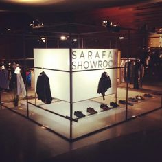 SARAFAN Pop Up Store @ Design Museum Holon