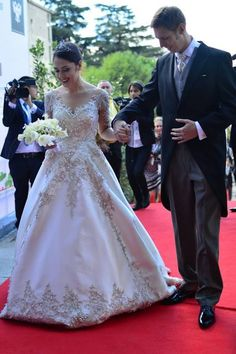 Wedding of Prince Leka of Albania and Elia Zaharia