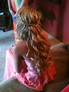 Braid & Prom Dress - Hairstyles and Beauty Tips