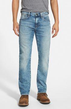 'Zach' Straight Leg Jeans (Random Yaletown)