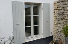Fenêtre bois avec fabrication style Rétaise
