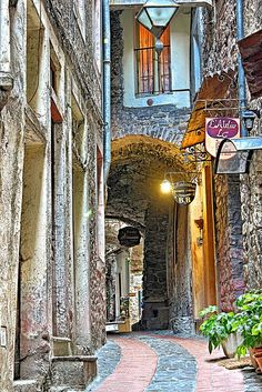 Dolceaqua, Liguria - Make every meal memorable with Regina products. reginavinegar.com #italy #liguria #scenery