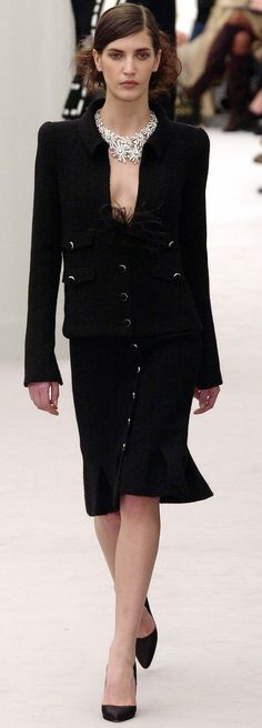 Spring/Summer 2004 Haute Couture Paris CHANEL