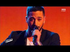 SLIMANE (KENDJI GIRAC - LES YEUX DE LA MAMA) THE VOICE 2016 - YouTube