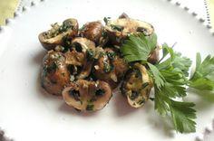 Aquí se cocina: Champiñones Portobello en el microondas
