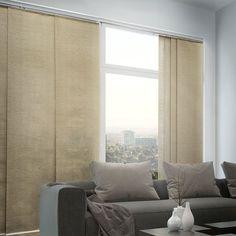 Adjustable sliding panel blinds.. best solution for the large windows