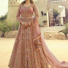 Asian Bridal Dresses, Party Wear Indian Dresses, Pakistani Fashion Party Wear, Pakistani Wedding Outfits, Designer Party Wear Dresses, Pakistani Bridal Dresses, Indian Gowns, Bridal Anarkali Suits, Walima Dress