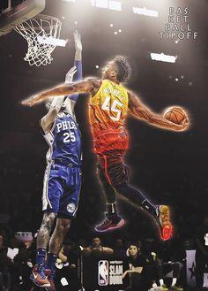 Every Basketball Player Has To Start Somewhere Basketball Court Layout, Jazz Basketball, Basketball Playoffs, Basketball Pictures, Nfl Football, Tyreke Evans, Oscar Robertson, Mike Jordan, Donovan Mitchell