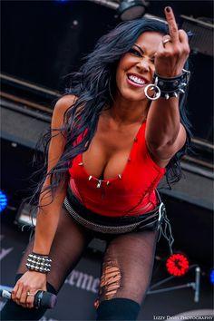 rockconcertphotography: Carla Coates, Butcher BabiesRock on the Range 2014 © Rock: Front/Center   More Photos on Facebook