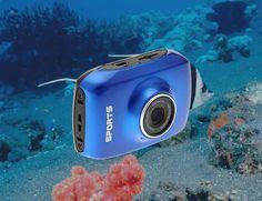 Waterproof Action #Camera http://thegadgetflow.com/portfolio/waterproof-action-camera/?utm_content=bufferee410&utm_medium=pinterest&utm_source=pinterest.com&utm_campaign=buffer  For capturing your #watersports adventures!