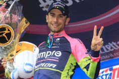 Giro d'Italia 2014 - Stage 8 - Diego Ulissi (Lampre-Merida) took his second stage win of the Giro on stage 8