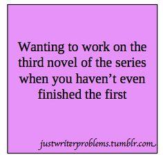 #WriterProblems