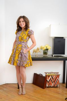 LiLi is a Vibrant Ankara African Print Dress by LiLiCreations, $95.00