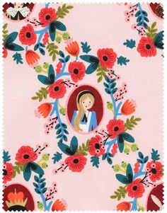 Aesthetic Oiseau: Alice in Wonderland Fabric from Rifle Paper Co.