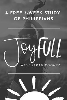 Biblical joy is a gift from God. It is the result of the gospel, produced by the Holy Spirit, and strengthened by studying God's Word.In this manual for joyful living, we will uncover the secret of Christian joy—Christ's joy in us forevermore. As we learn to search our difficult circumstances for eternal value, we will find the strength we need to rejoice always. Prayer Quotes, Prayer Ideas, Book Of Philippians, Bible Verses For Women, Free Bible Study, Christian Faith, Christian Living, Christian Movies, S Word