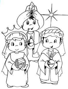 Menta Más Chocolate - RECURSOS y ACTIVIDADES PARA EDUCACIÓN INFANTIL: Dibujos e Imágenes de los Tres Reyes Magos