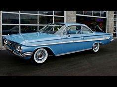 1961 Impala Sport Coupe My second car! 1961 Chevy Impala, Impala Car, Chevy Ss, Chevrolet Impala, Car Chevrolet, My Dream Car, Dream Cars, Classic Trucks, Classic Cars