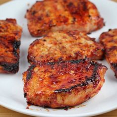 Honey Garlic Porkchops! I know some folks don't like porkchops, but I can't exclude for the ones that do!  These aren't hard to make and a small list of ingredients.  Ingredients: 1 cup organic ketchup 1/3 cup honey ¼ cup soy sauce 2 garlic cloves (minced) 1 1/2lbs boneless pork chops (6 4 oz portions) Salt and pepper  Directions 1. In a medium bowl  stir together ketchup, honey, soy sauce and garlic. Set aside. 2. Lightly season the pork chops on both sides with salt and pepper. Brush each…