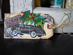 #Christmas #car #tag #scrapbook #collage Holiday Images, High Road, Car Themes, Favorite Holiday, Happy Holidays, Christmas Cards, Collage, Scrapbook, Tags
