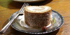 hazelnut roll cake