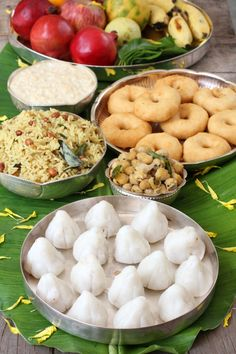 Ganesh Chaturthi Naivedhyam: special dishes prepared for the festival.