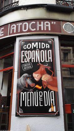 Taberna o casa de comidas típica española. Typical spanish house meals
