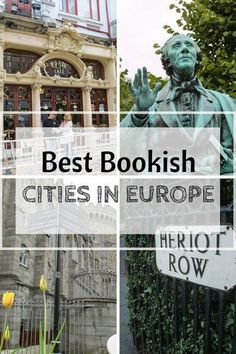 Are you ready for some literary wanderlust? I know I am! As an English teacher, I feel like it's my super special duty to promote literature destinations – of all shapes and sizes – from around the globe! I love books (and they love me)! Welcome to the Best Bookish Cities in Europe.