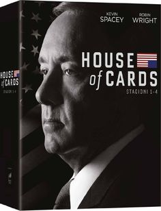 House of Cards: Stagioni 1-4 (Cofanetto 16 DVD)