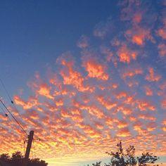 Major #santafe #vibes in tonight's #sunset!  #pinkmoment #oakland #lakemerritt #clouds #bayarea