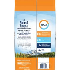 Natural Balance L. The top 20 premiere dry dog food manufacturers chosen by the editors of The Dog Food Advisor. Includes designated evaluation and star rating for each recommendation. Best Cheap Dog Food, Best Dog Food, Dry Dog Food, Salmon And Sweet Potato, Sweet Potatoes For Dogs, Grain Free Dog Food, Free Food, Allergy Free Recipes, Dog Food Recipes